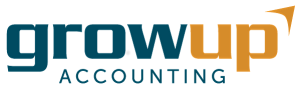 Grow Up Accounting Logo