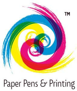 Paper Pens and Printing Logo