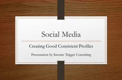 How to Create Good Consistent Social Media Profiles