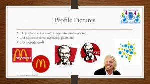 Social Media Profile pictures examples