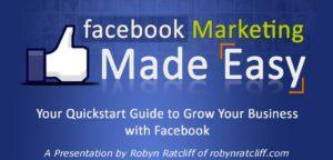 A Facebook Marketing Presentation